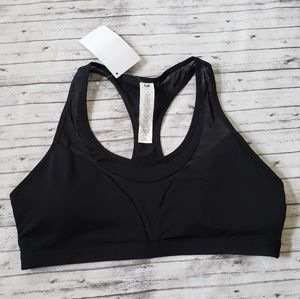 NWT XL Fabletics Cobie Sports Bra Black